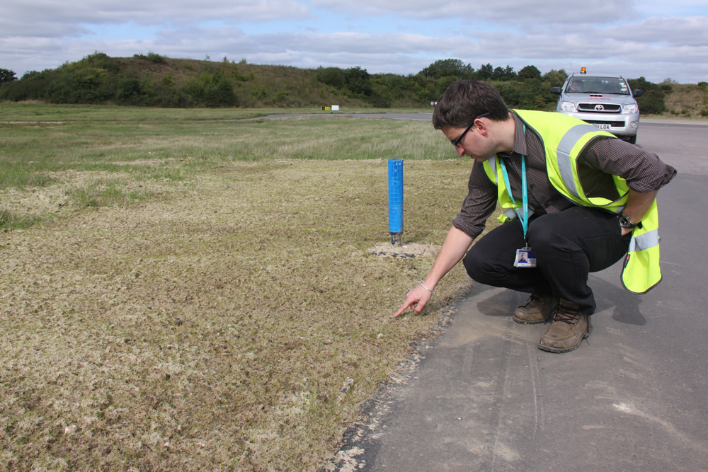 Cambridge Airport Seeding