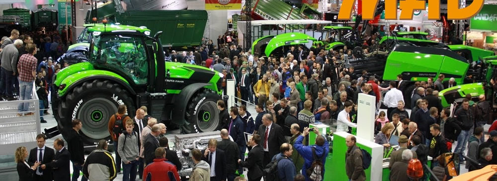 AgriTechnica 2015 in Hanover.