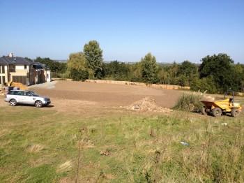 Ground work at Englefield Green