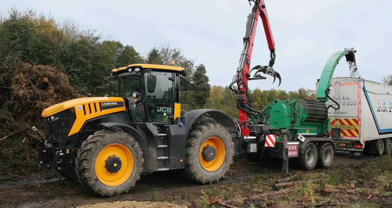 Woodland management machinery