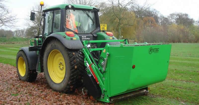 Landscape Maintenance Tractor